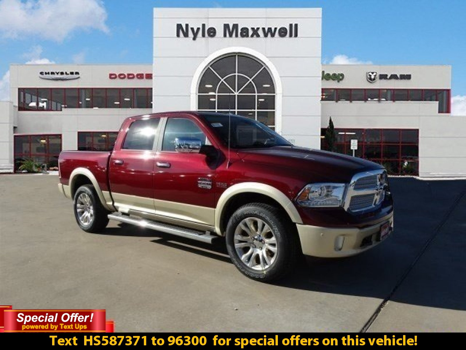 new 2017 ram 1500 laramie longhorn crew cab in austin hs587371 nyle maxwell chrysler dodge. Black Bedroom Furniture Sets. Home Design Ideas