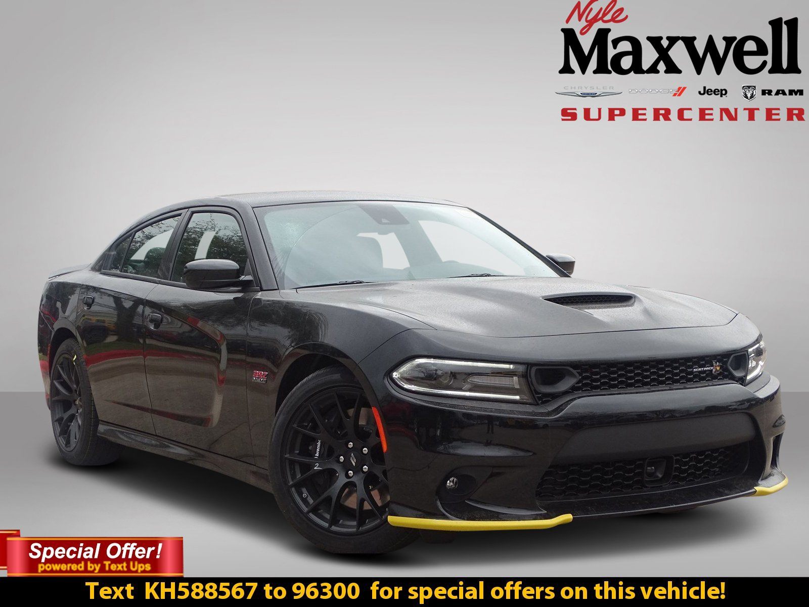 New 2019 Dodge Charger R T Scat Pack Sedan In Austin Kh588567