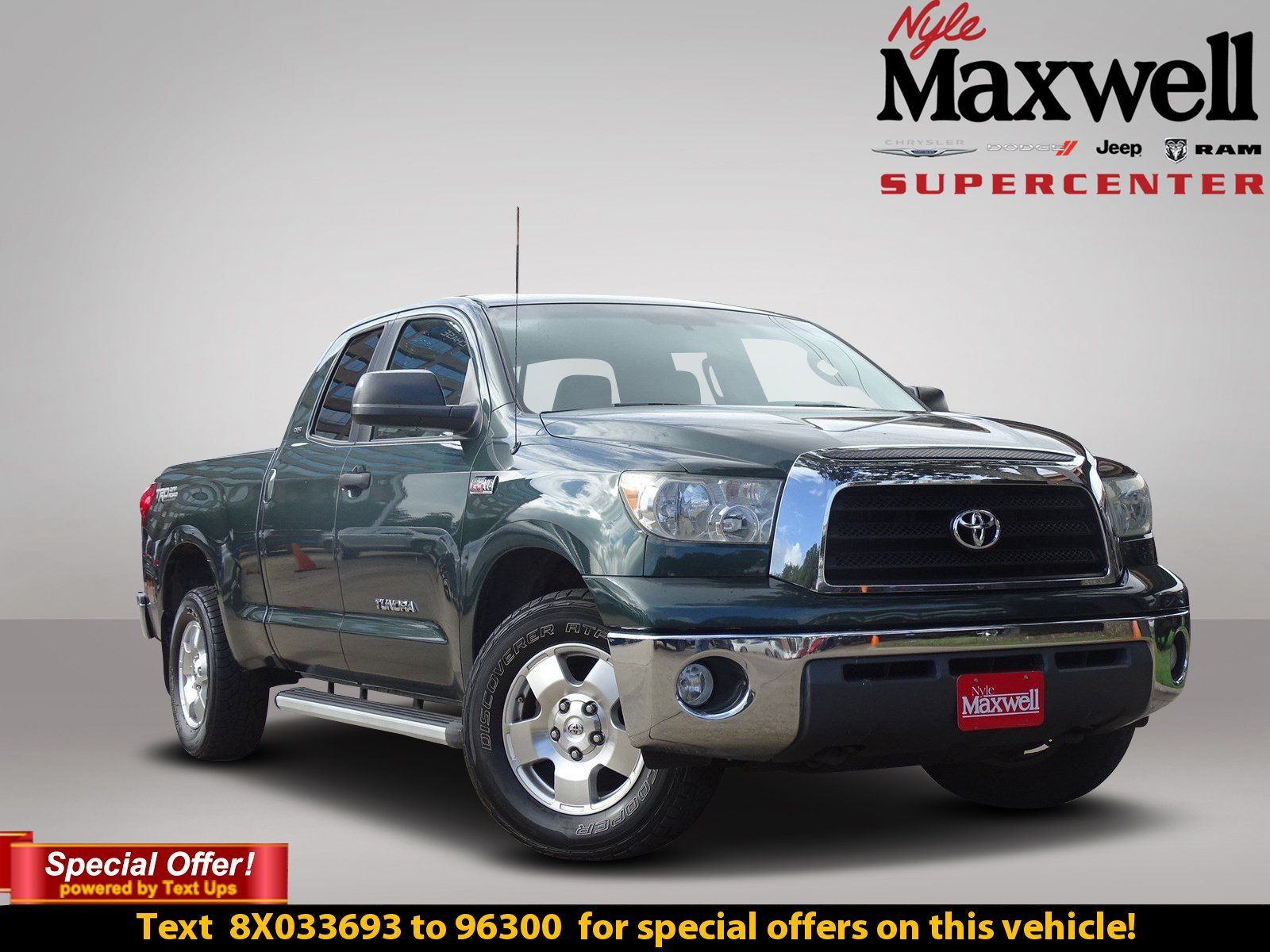 Superior Pre Owned 2008 Toyota Tundra 2WD Truck SR5