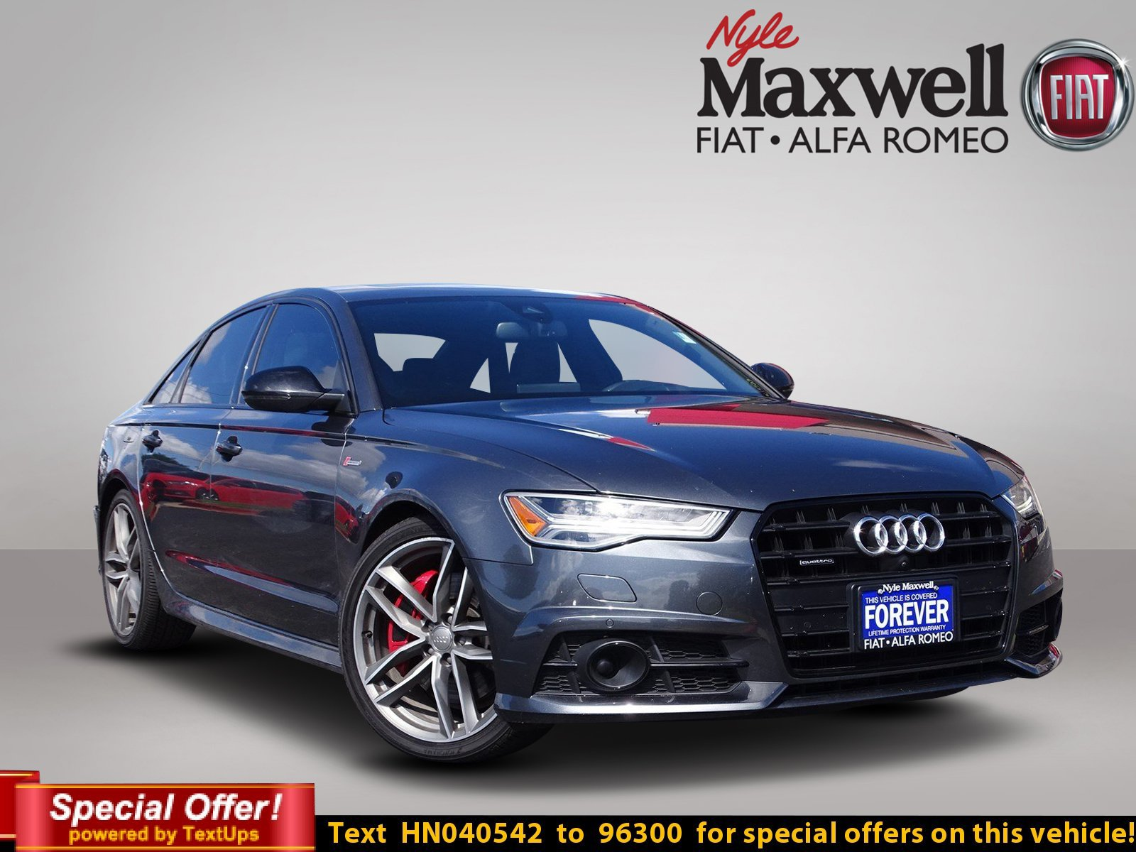 Pre Owned 2017 Audi A6 petition Prestige 4dr Car in Austin