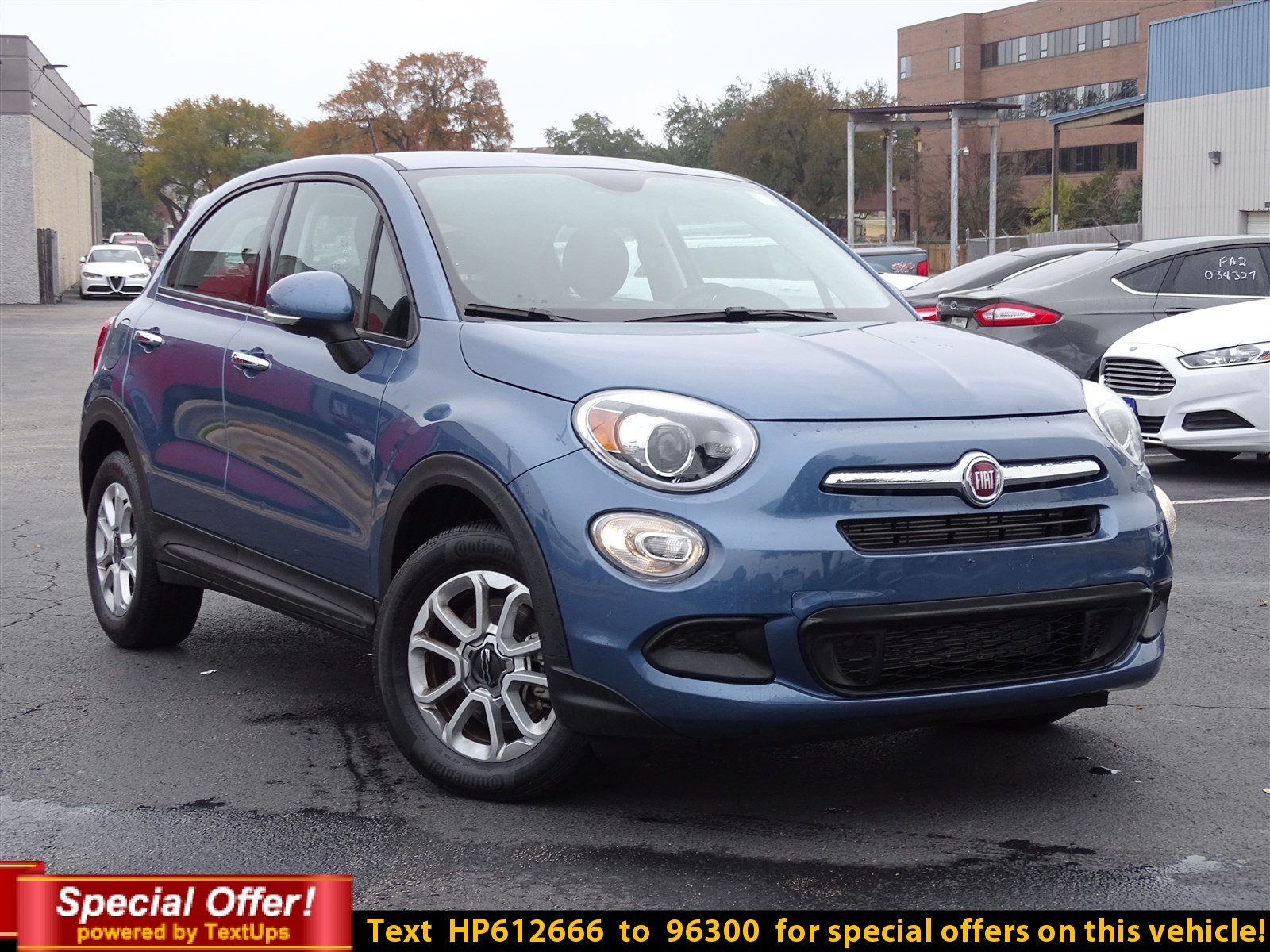 Certified Pre Owned 2017 FIAT 500X Pop Sport Utility in Austin