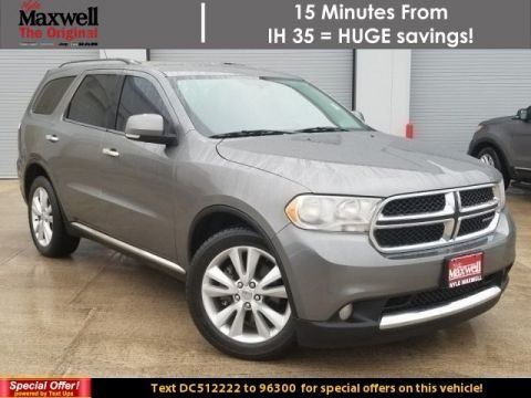 Used 2013 Dodge Durango Crew With Navigation