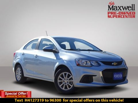 Pre Owned 2017 Chevrolet Sonic Lt 4dr Car In Austin H4114641 Nyle