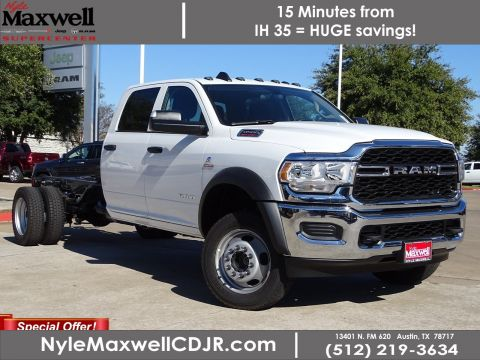 New 2019 RAM 4500 Chassis Cab Tradesman 4x4 Crew Cab
