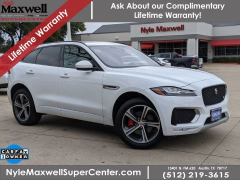Used 2018 Jaguar F-PACE S With Navigation & AWD