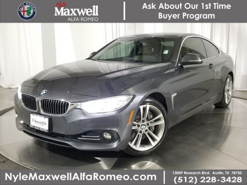 Used 2017 BMW 4 Series 440i RWD 2dr Car